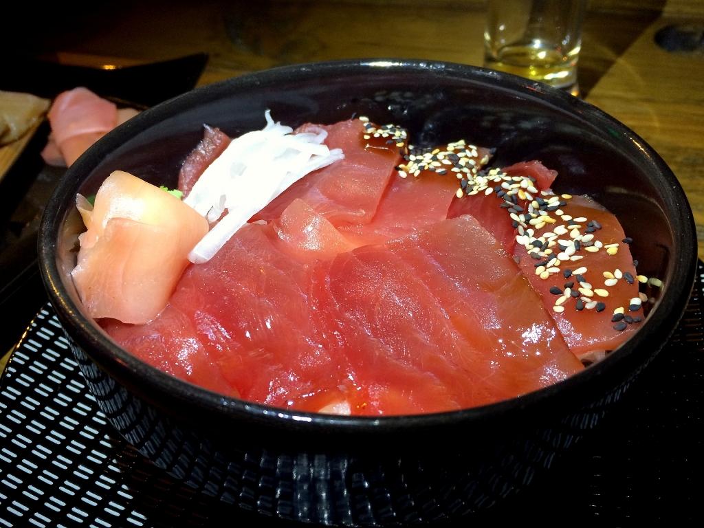 Bonne adresse sushi - yoko - Saint gilles les bains 97434 - chirashi thon