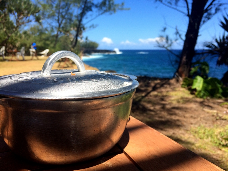 Bonne adresse restaurant Saint-philippe Sud Sauvage - 974 La Reunion - marmite creole