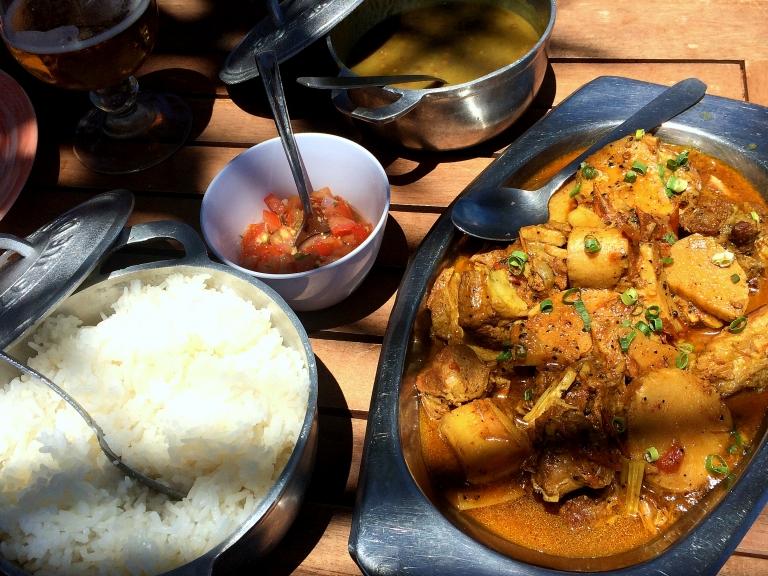 Bonne adresse restaurant Saint-philippe Sud Sauvage - 974 La Reunion - plats 2