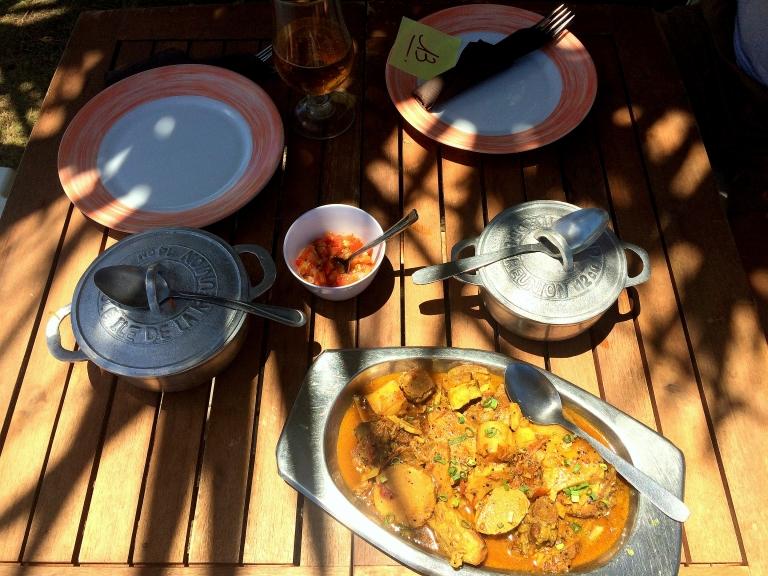Bonne adresse restaurant Saint-philippe Sud Sauvage - 974 La Reunion - plats