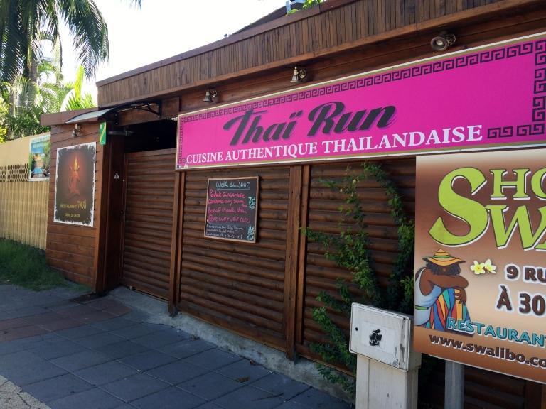 thai run bonne adresse restaurant thaï la saline devanture