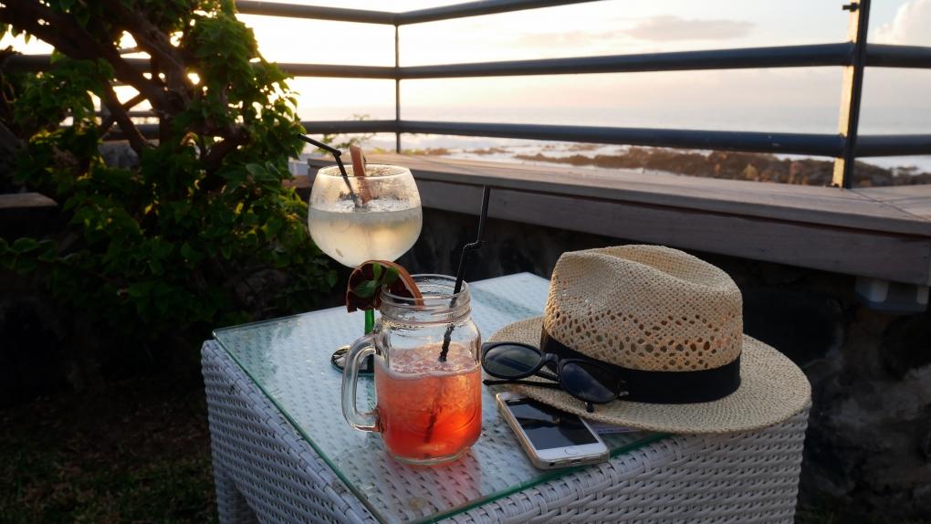 Coucher de soleil la reunion hotel boucan canot 974 cocktail 4