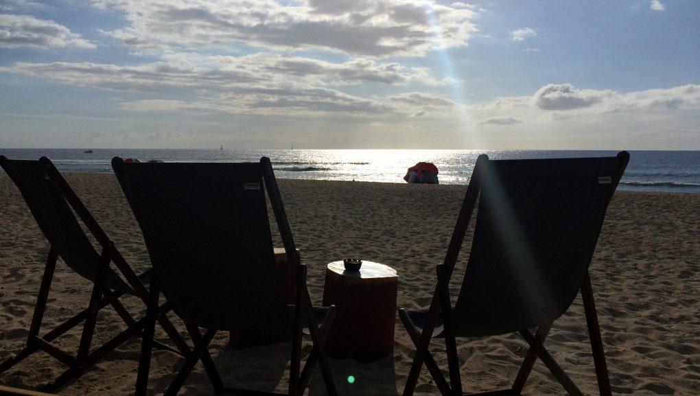 Coucher de soleil la reunion le sauvage saint gilles les bains