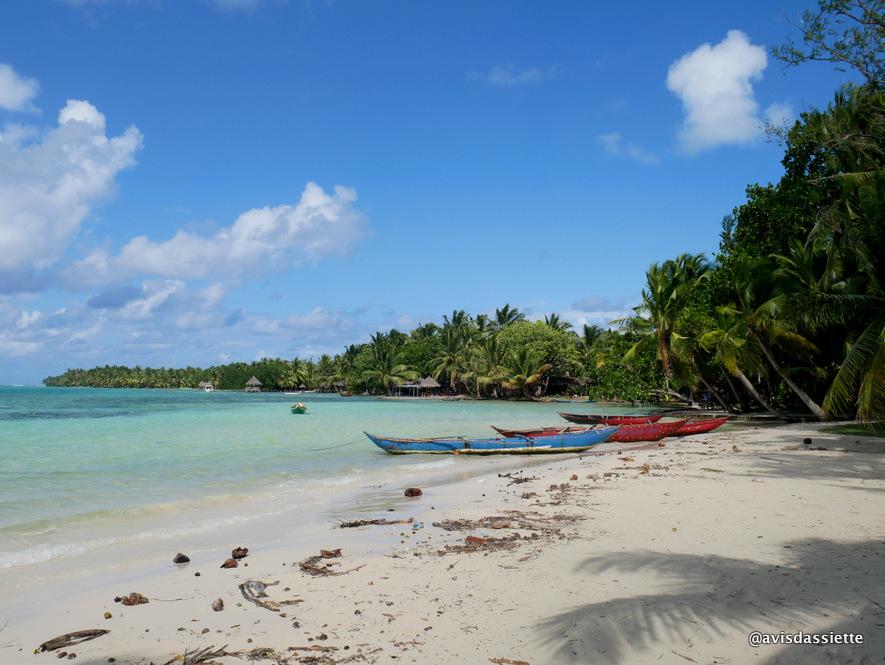 ile aux nattes voyage madagascar plage pirogue