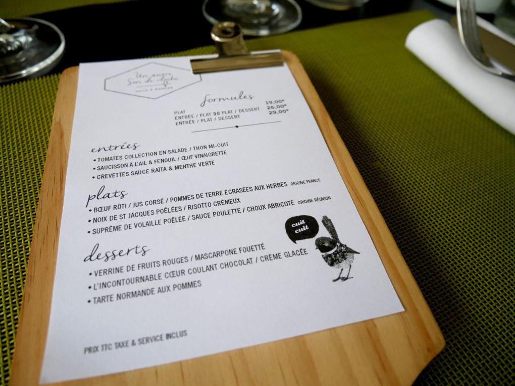 bonne adresse restaurant saint denis 974 un autre son de cloche carte