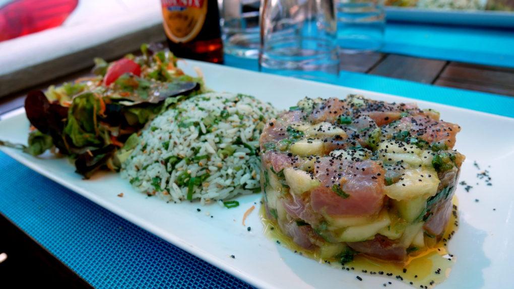 TI MAHI MAHI restaurant tartare poisson saint gilles la reunion 974 2